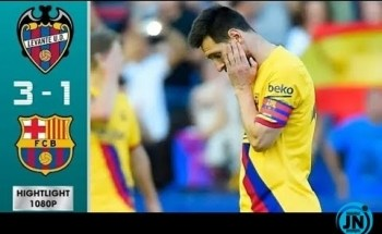 Levante vs Barcelona 3-1 – All Highlights & Goals